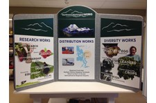 - Tradeshow Display - Tabletop Display - Economic Development Association of Skagit County - Mount Vernon, WA
